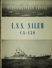 Page 7, 1950 Edition, Salem (CA 139) - Naval Cruise Book online yearbook collection