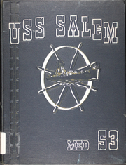 Page 1, 1953 Edition, Salem (CA 139) - Naval Cruise Book online yearbook collection