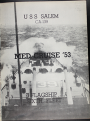 Page 5, 1953 Edition, Salem (CA 139) - Naval Cruise Book online yearbook collection