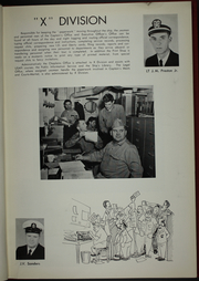 Page 13, 1959 Edition, Salisbury Sound (AV 13) - Naval Cruise Book online yearbook collection