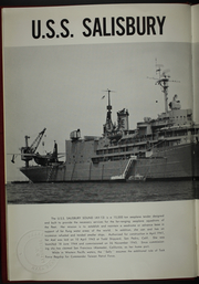 Page 6, 1959 Edition, Salisbury Sound (AV 13) - Naval Cruise Book online yearbook collection