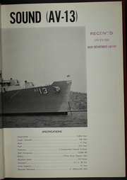Page 7, 1959 Edition, Salisbury Sound (AV 13) - Naval Cruise Book online yearbook collection