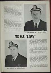 Page 9, 1959 Edition, Salisbury Sound (AV 13) - Naval Cruise Book online yearbook collection