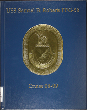 Page 1, 2009 Edition, Samuel B Roberts (FFG 58) - Naval Cruise Book online yearbook collection