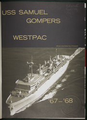 Page 5, 1968 Edition, Samuel Gompers (AD 37) - Naval Cruise Book online yearbook collection