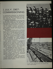 Page 7, 1968 Edition, Samuel Gompers (AD 37) - Naval Cruise Book online yearbook collection