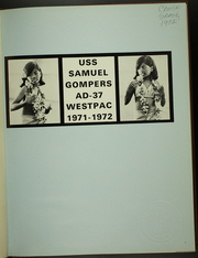 Page 5, 1972 Edition, Samuel Gompers (AD 37) - Naval Cruise Book online yearbook collection