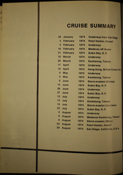 Page 6, 1974 Edition, Samuel Gompers (AD 37) - Naval Cruise Book online yearbook collection