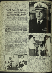 Page 10, 1988 Edition, Samuel Gompers (AD 37) - Naval Cruise Book online yearbook collection