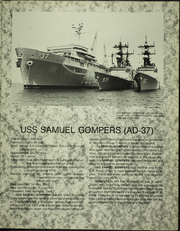 Page 9, 1988 Edition, Samuel Gompers (AD 37) - Naval Cruise Book online yearbook collection