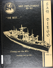 1990 Edition, San Diego (AFS 6) - Naval Cruise Book