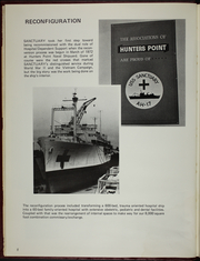 Page 12, 1973 Edition, Sanctuary (AH 17) - Naval Cruise Book online yearbook collection