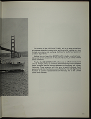 Page 15, 1973 Edition, Sanctuary (AH 17) - Naval Cruise Book online yearbook collection
