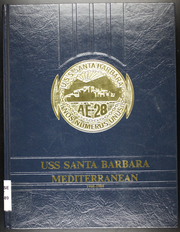 Page 1, 1989 Edition, Santa Barbara (AE 28) - Naval Cruise Book online yearbook collection