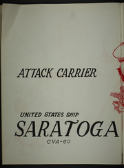 Page 6, 1965 Edition, Saratoga (CVA 60) - Naval Cruise Book online yearbook collection