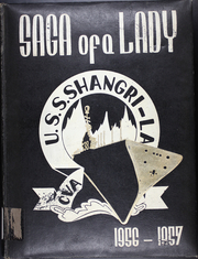 1957 Edition, Shangri La (CVA 38) - Naval Cruise Book