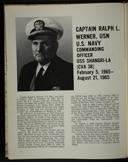 Page 10, 1965 Edition, Shangri La (CVA 38) - Naval Cruise Book online yearbook collection
