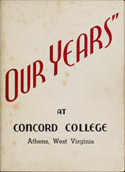 Page 7, 1940 Edition, Concord College - Pine Tree Yearbook (Athens, WV) online yearbook collection