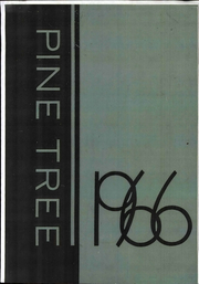 1966 Edition, Concord College - Pine Tree Yearbook (Athens, WV)