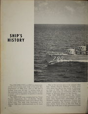 Page 6, 1958 Edition, Shelton (DD 790) - Naval Cruise Book online yearbook collection