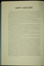 Page 6, 1958 Edition, Shenandoah (AD 26) - Naval Cruise Book online yearbook collection