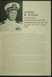 Page 7, 1958 Edition, Shenandoah (AD 26) - Naval Cruise Book online yearbook collection