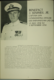 Page 8, 1958 Edition, Shenandoah (AD 26) - Naval Cruise Book online yearbook collection