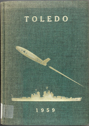 Page 1, 1959 Edition, Toledo (CA 133) - Naval Cruise Book online yearbook collection