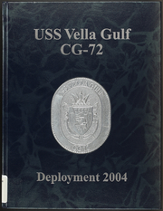 Page 1, 2004 Edition, Vella Gulf (CG 72) - Naval Cruise Book online yearbook collection