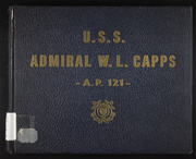 1946 Edition, Admiral W L Capps (AP 121) - Naval Cruise Book