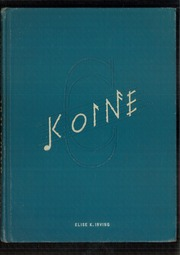 1941 Edition, Connecticut College - Koine Yearbook (New London, CT)
