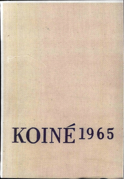 1965 Edition, Connecticut College - Koine Yearbook (New London, CT)