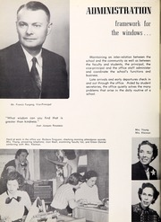 Page 10, 1954 Edition, Northwestern High School - Compass Yearbook (Hyattsville, MD) online yearbook collection
