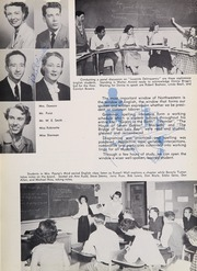 Page 13, 1954 Edition, Northwestern High School - Compass Yearbook (Hyattsville, MD) online yearbook collection