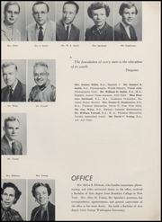 Page 14, 1957 Edition, Northwestern High School - Compass Yearbook (Hyattsville, MD) online yearbook collection