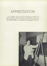Page 9, 1957 Edition, Howard High School - Howard Shield Yearbook (Ellicott City, MD) online yearbook collection