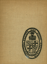 Page 1, 1939 Edition, Western High School - Westward Ho Yearbook (Baltimore, MD) online yearbook collection