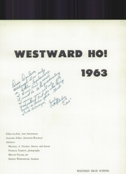 Page 7, 1939 Edition, Western High School - Westward Ho Yearbook (Baltimore, MD) online yearbook collection