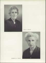 Page 11, 1951 Edition, Western High School - Westward Ho Yearbook (Baltimore, MD) online yearbook collection