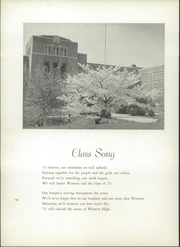 Page 8, 1951 Edition, Western High School - Westward Ho Yearbook (Baltimore, MD) online yearbook collection