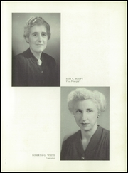 Page 11, 1952 Edition, Western High School - Westward Ho Yearbook (Baltimore, MD) online yearbook collection