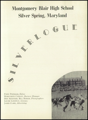 Page 7, 1948 Edition, Montgomery Blair High School - Silverlogue Yearbook (Silver Spring, MD) online yearbook collection