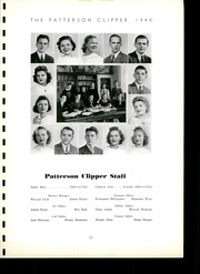 Page 17, 1940 Edition, Patterson High School - Clipper Yearbook (Baltimore, MD) online yearbook collection