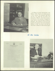 Page 12, 1951 Edition, Patterson High School - Clipper Yearbook (Baltimore, MD) online yearbook collection