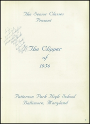 Page 7, 1956 Edition, Patterson High School - Clipper Yearbook (Baltimore, MD) online yearbook collection