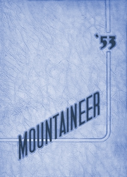1953 Edition, Beall High School - Mountaineer Yearbook (Frostburg, MD)