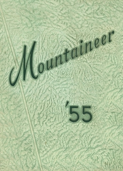 1955 Edition, Beall High School - Mountaineer Yearbook (Frostburg, MD)