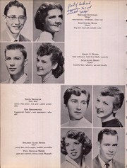 Page 16, 1956 Edition, Beall High School - Mountaineer Yearbook (Frostburg, MD) online yearbook collection