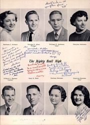 Page 13, 1958 Edition, Beall High School - Mountaineer Yearbook (Frostburg, MD) online yearbook collection
