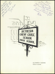 Page 5, 1957 Edition, Bethesda Chevy Chase High School - Pine Tree Yearbook (Bethesda, MD) online yearbook collection